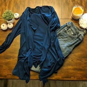 Long buckle jeans (35.5 inseam) + Vince camuto